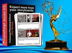 FrameForge Previz Studio and Emmy® Statuette