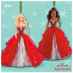 Holiday Barbie™ Doll Keepsake Ornaments from Hallmark