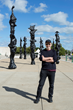 Herb Alpert Totem Sculptures Installed On Steps of Field Museum, Chicago