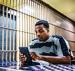 Telmate Tablets are the newest access point for inmates to communicate with friends and family.