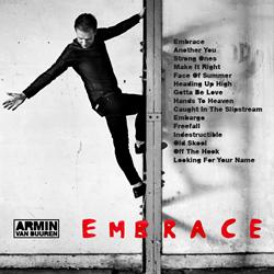 Armin van Buuren Reveals Full Tracklist to EMBRACE (Armada Music)