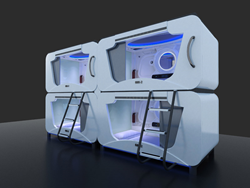 Capsulesbed.com Now Redefines Accommodation with Futuristically...