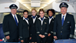 National Airlines Flight Crew