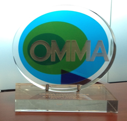2015 OMMA Award for Bayshore Solutions' USF CAMLS web design