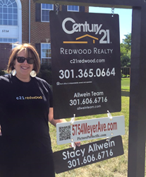 CENTURY 21 Redwood Realty Announces 10th Office, Opening in Frederick,...