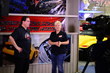 American Car Craft co-owner, Rick Rivera and Performance TV co-host Kathy Fisher
