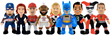 Bleacher Creatures To Make Texas-Sized Debut At Dallas Toy Fair at Booth #13-3508