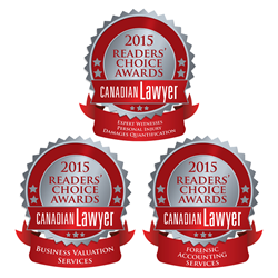 Canadian Lawyer's 2015 Readers' Choice Awards