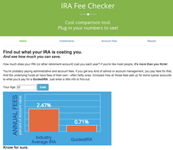 GuidedChoice IRA Fee Checker