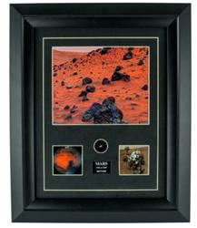 Mars Meteorite Prints with authentic specimen