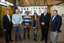 Long Island Millennial Makers Attend Rebranding Launch