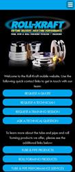 Roll-Kraft Adds Mobile Website Access