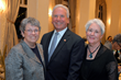 Mary K. Spengler, MS, executive director, HPCW; William F. Flooks, Jr., co-chair and HPCW Board Chairman; Kathy A. McMahon, president & CEO of the Hospice and Palliative Care Association of NY