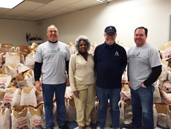 The BlumShapiro Thanksgiving Food Basket Campaign for Christian Community Action