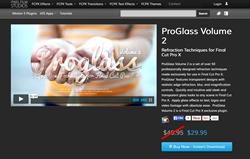 Pixel Film Studios Release ProGlass Volume 2 for FCPX