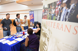 Salt Lake Community College Veterans Services holds an open house at the SLCC Taylorsville Redwood Campus.