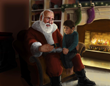 Santa with the little boy