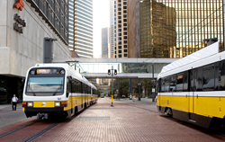 Dallas, public transportation, fare collection system
