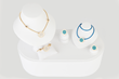 The CJ Bridal Golden Charm Collection kit