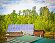 Solar Installation at Will Steger Wilderness Center. Photo credit: John Ratzloff