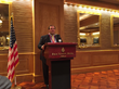 Attorney Richard S. Ravosa addressing the Foundation for Improvement of Justice at the Four Seasons Hotel in Atlanta