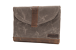Surface Pro 4 or Surface Book SleeveCase—tan waxed canvas with grizzly leather