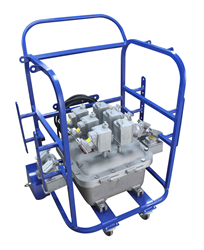240VAC to 120VAC Power Distribution System for Hazardous Locations