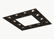 The ELEMENT LED Build-Your-Own Multiples spot modules can create the desired lighting configuration and effect.