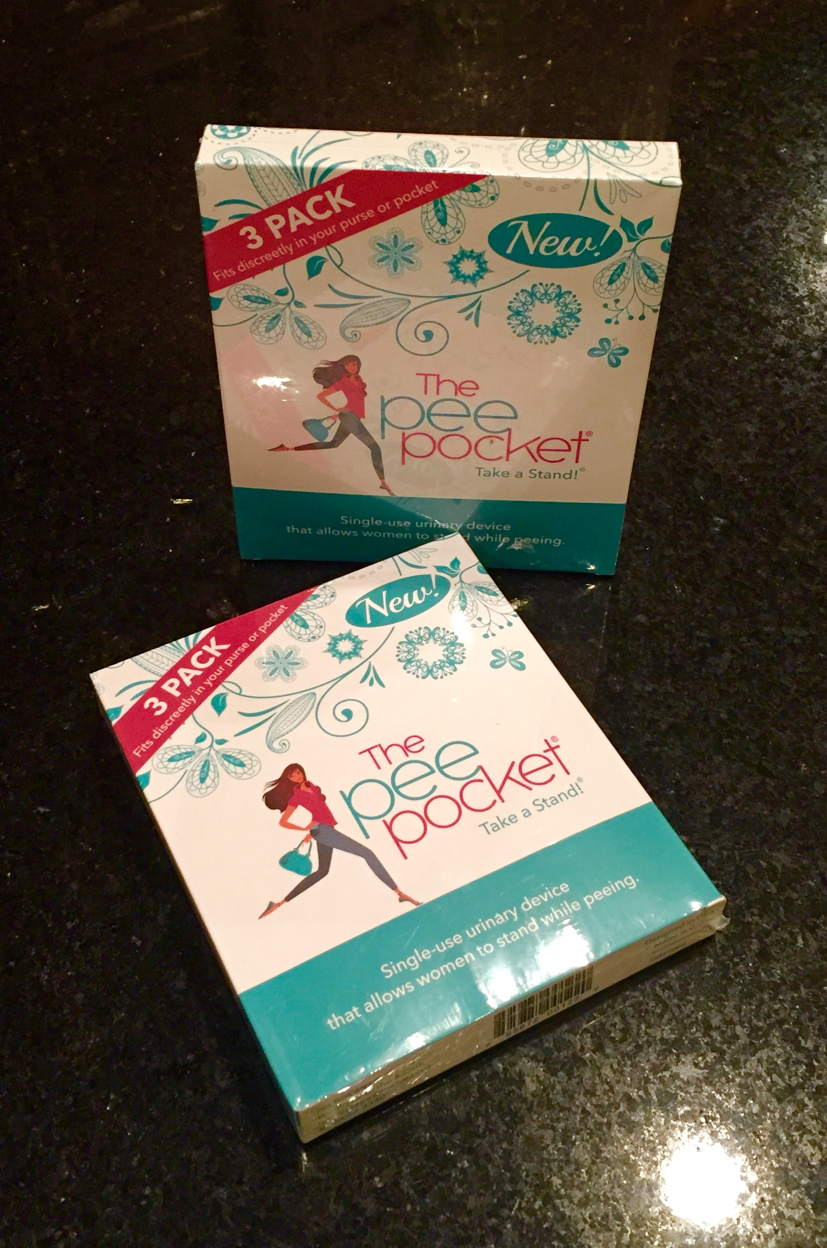 The Pee Pocket 174 Introduces New And Improved 3 Pack For