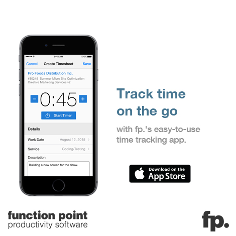 Function Point Launches Time Tracking App for iPhone and Apple Watch
