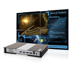 Versatile Digital Signage Player for 4-Display Video Wall