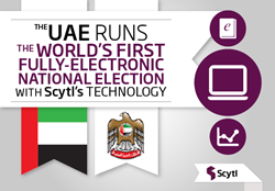 Scytl UAE electronic voting and election night reporting