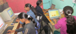 Girls in a Children's Hope computer class in India