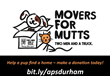 Local TWO MEN AND A TRUCK® Kicks Off Movers for Mutts Campaign to Help Strays in Local Animal Shelter