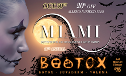 11th Annual Boo-tox Event at The MIAMI Institute for Age Management & Intervention
