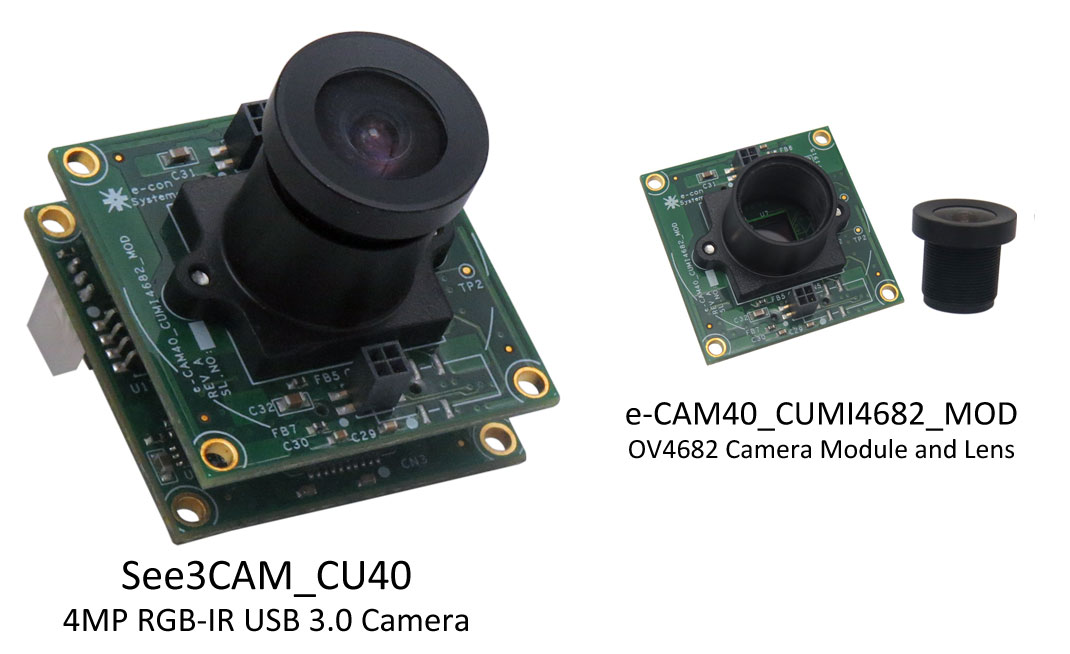 E Con Systems Launchesrgb Ir Usb 3 0 Camera With