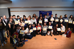 "Spring graduates of ""Una Mano Amiga"" at SLCC."