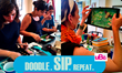 Doodle, Sip, Repeat: Shadowboxing Assemblage Workshop held every month at uBe Art