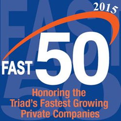 Sunrise Technologies Named to Triad Fast 50 for Ninth Consecutive Year