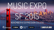 Ex'pression College Emeryville to Host Second Annual Music Expo SF, a Networking and Education Event for Students and Professionals