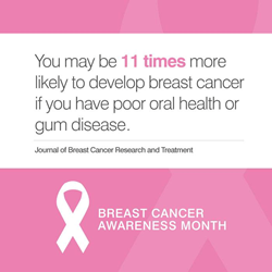 Columbia Orthodontics, your choice for a dentist in Vancouver WA takes part in raising awareness during breast cancer awareness month.