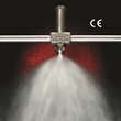 EXAIR's New No Drip External Mix Atomizing Nozzles Positively Stop Liquid Flow