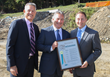 Westchester County Executive Rob Astorino presented Saber Dobbs Ferry with a proclamation in honor of the economic impact the project will have on the County.