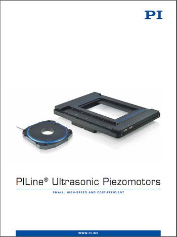 Pi Publishes Ultrasonic Piezo Motors Catalog