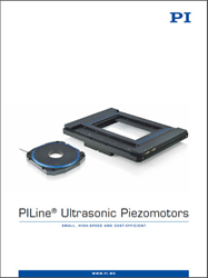 PI's Ultrasonic Piezo Motors Catalog