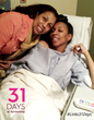 Jan Hickman with her daughter, Alane, before her surgery.