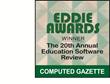 eSchoolPLUS 4.0 Named Best Online Student Information System in ComputEd Gazette's EDDIES