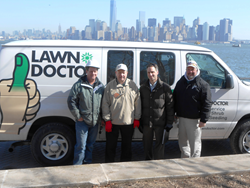 Lawn Doctor Project EverGreen Liberty Island Memorial Grove