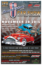 3rd Annual AmeriCarna LIVE Car Show to Support Young Adults with ASD