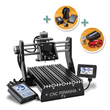 """Rockler Adds CNC Piranha FX 3-D And Laser Bundle: Industry's First """"Make Anything"""" Machine - Routing, 3D Printing and Laser Etching Modules Are Interchangeable"""